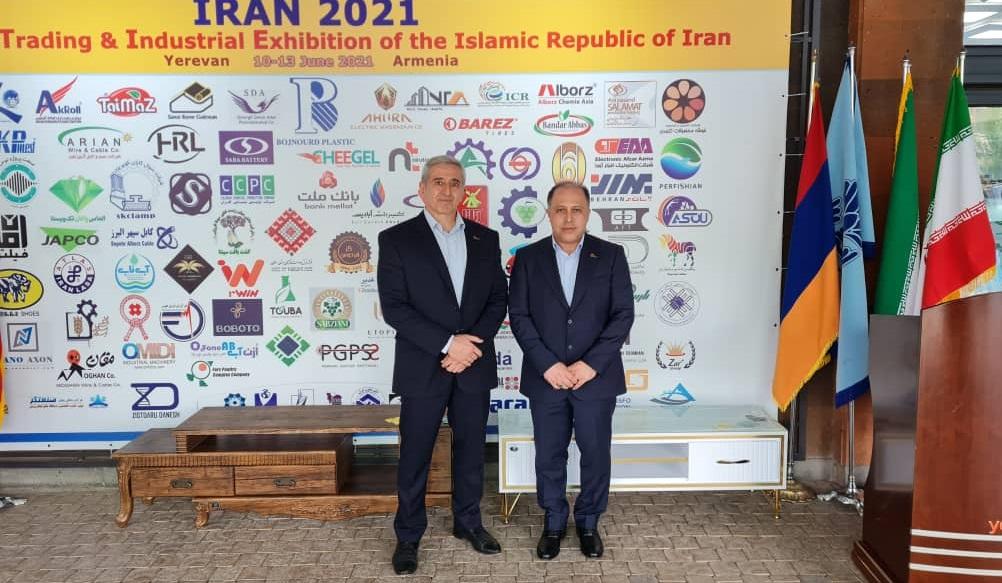 حضور دکتر یزدان پناه در نمایشگاه برنج کشور ارمنستان