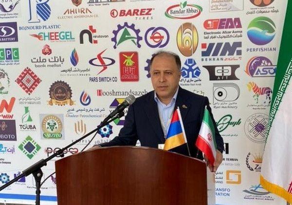 سخنرانی دکتر یزدان پناه در نمایشگاه برنج ارمنستان